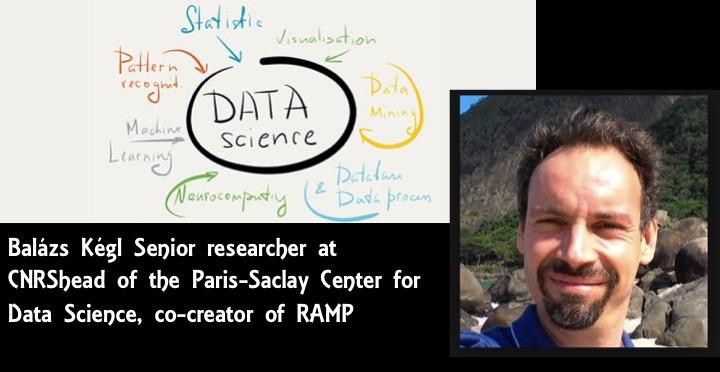 Data Scientist, Dahu des Ressources humaines et du monde informatique. ITW Balázs Kégl Senior researcher at CNRS, co-creator of ramp.studio