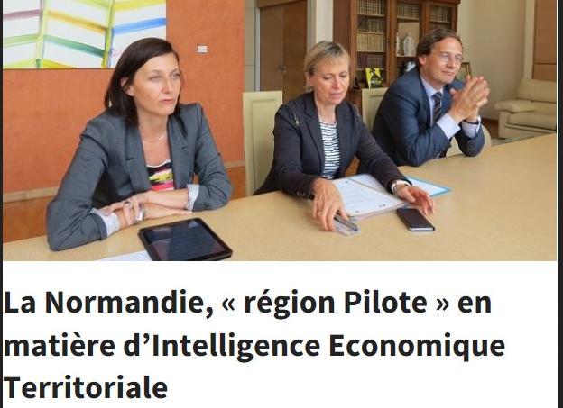 Installation du comité stratégique d'Intelligence Économique Territoriale