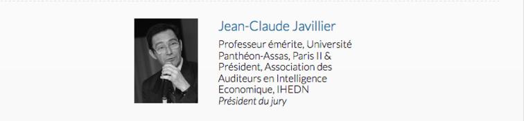Jean-Claude Javillier, Président du Jury IES