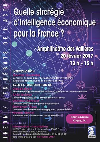 Quelle stratégie d'intelligence économique pour la France ?