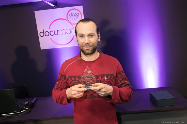 Maxime Beauchene représentait Arnaud de Moissac, CEO DC Brain