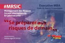 Nouvelle formation Management des Risques, Sûreté Internationale et Cyber sécurité à l'Ecole de Guerre Economique