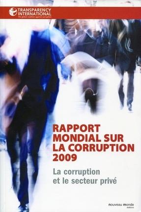 Rapport mondial sur la corruption 2009
