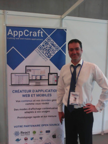 AppCraft  au Salon Mobility for Business. Les applications hybrides vont prendre leur essor