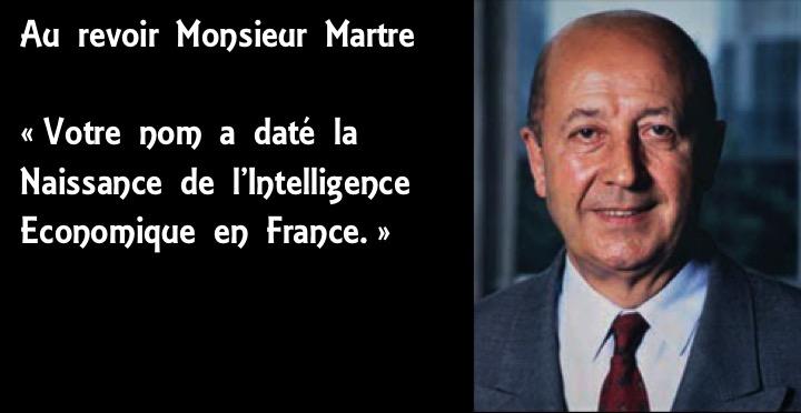 Hommage. Henri Martre est décédé le 3 juillet 2018. Un nom qui a daté la naissance de l'Intelligence économique en France