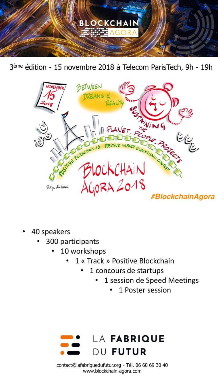 La galaxie blockchain se réunira à Telecom ParisTech le 15 novembre.