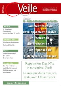 Au sommaire de Veille Magazine N° 125  Mai-Juin 2011