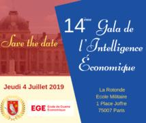 Prix Intelligence Economique Territoriale du Gala de l'Intelligence Economique