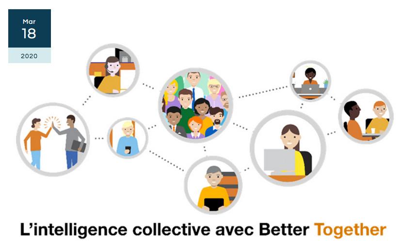 La veille collaborative pour soutenir l'intelligence économique du groupe Orange. La plateforme Better Together