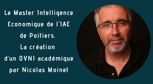 Nous sommes en 1994. Une aventure académique commence ... à suivre le blog de Nicolas Moinet
