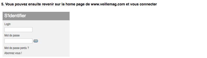 Abonnés : comment créer vous-meme vos codes d'accès au Pack Digital Veillemag