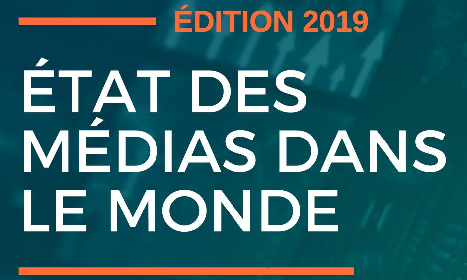 #Cision. Etude : état des médias en France et dans le Monde