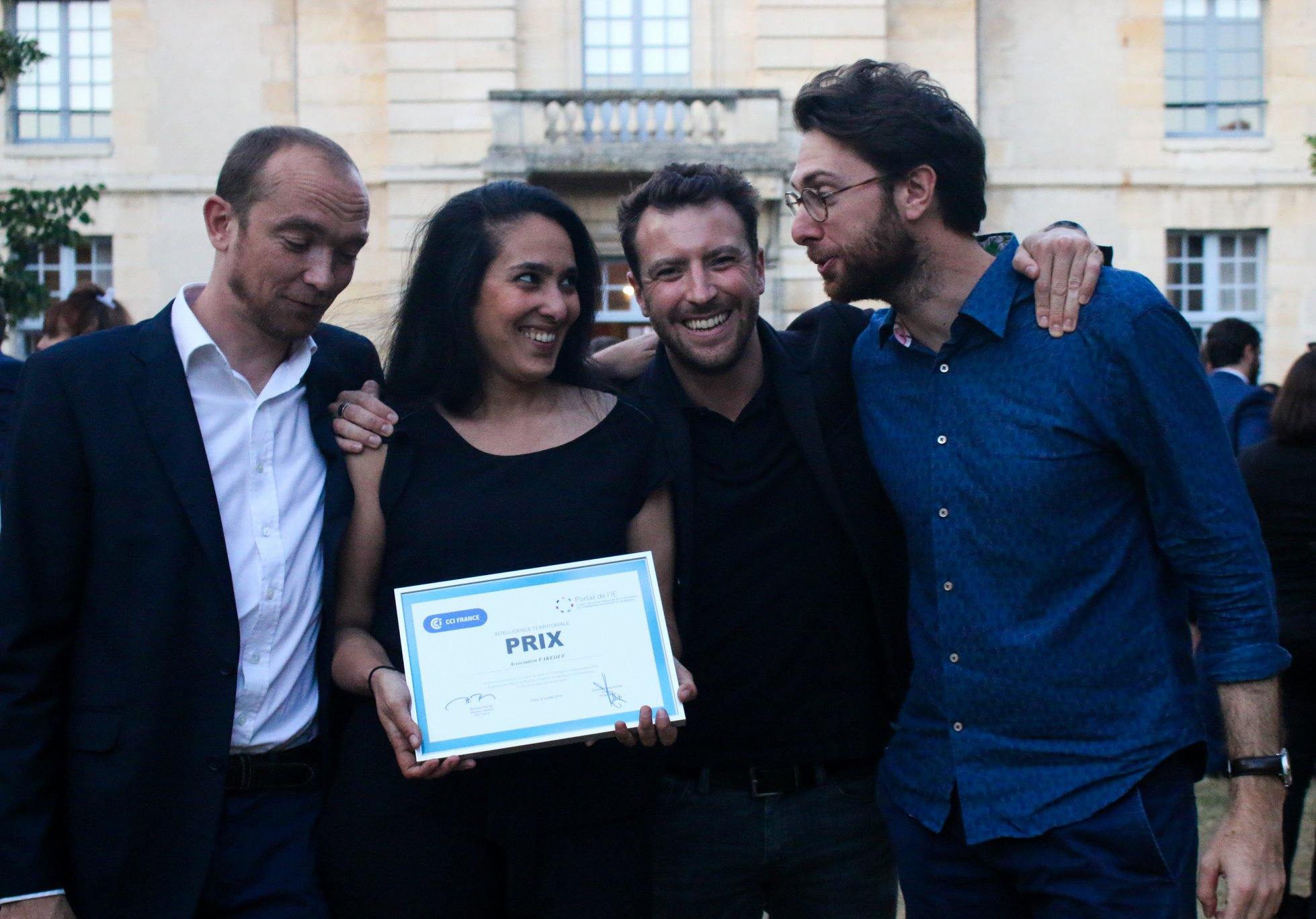 """FakeOff primé au Gala de l'Intelligence économique 2019 """"Intelligence Economique Territoriale"""""""