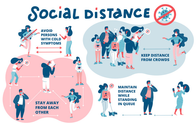 Distance sociale ou distance physique ? Activité sportive et Intelligence collective