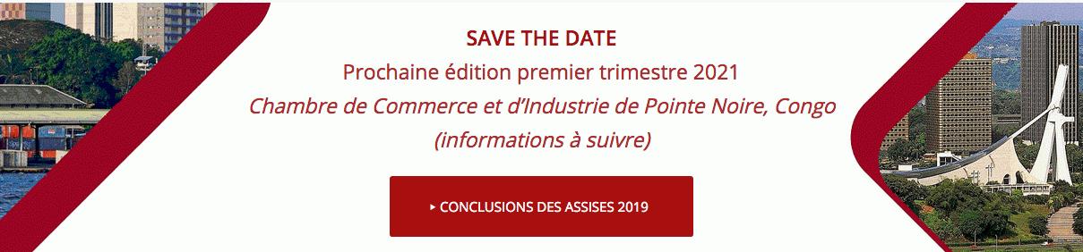 Assises Africaines de l'Intelligence Économique  5ème édition - 1er trimestre 2021 - Pointe Noire (Rep. du Congo)