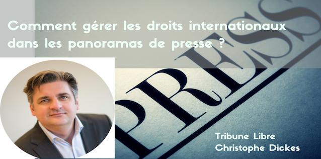 Comment gérer les droits internationaux dans les panoramas de presse ?
