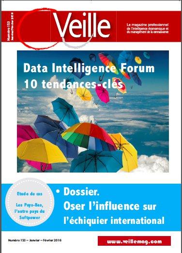 N°153 / Janvier - Février 2016. Data Intelligence.
